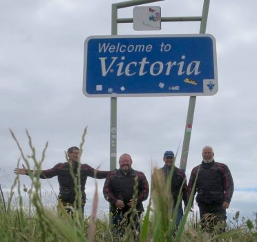 Welcome to Vic sign